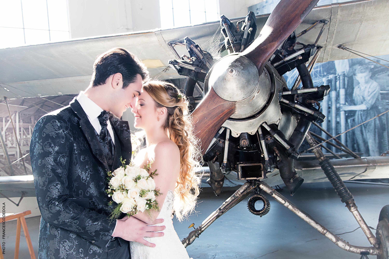 Le spose di Mary Luino, abiti da sposo, sposa, cerimonia, accessori, volandia foto Francesco Dedola